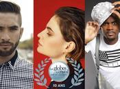 Kendji Girac, Black Christine Queens Indila nominés Globes Cristal 2015