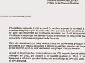 Centre multi-filières d'Echillais lettre Ségolène Royal