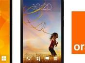 Orange dévoile nouveau smartphone Fova