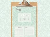 [diy] calendrier mars 2015