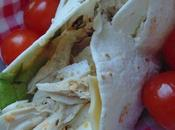 Wraps façon salade césar
