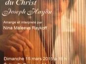 Récital Harpe- Nina MALEEVA RAYKOFF sept dernières paroles Christ Joseph HAYDN