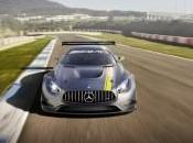 Mercedes-Benz brute pour piste