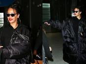 Rihanna vidéo arrivée Paris pour Fashion Week