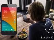 Launcher lanceur prédictif sous Android, Nokia