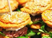 Muffin burger
