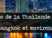 villes Thaïlande centrale. (Bangkok environs)
