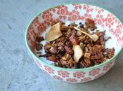 Granola maison pomme granny cannelle amande