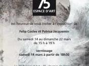 Exposition Felip Costes Espace d'art Saint-Vincent Barbeyrargues (34)
