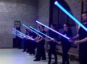 école pour apprendre maniement sabre laser