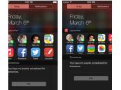 Launcher l'application widget indispensable iPhone (iOS