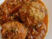 Tamatari Kofta Boulettes sauce tomates l'indienne Indian meatballs tomato