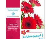 FONDATION ARSEP Fleuristes, campagne lutte contre sclérose plaques Maman t'aime peu, beaucoup solidairement renouvelée 2015