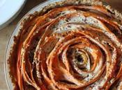 Tarte fleur carottes