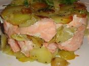 Gâteau pommes terre saumon