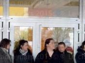 Blocage l'école Jean Moulin Bernay…
