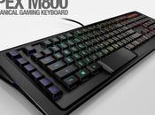 Test Clavier Apex M-800 SteelSeries Gaming