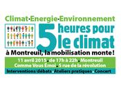 COP21 heures pour climat Samedi avril Comme Vous Emoi Révolution Montreuil