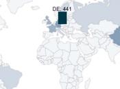 Chine dépasse l'Allemagne nombre brevets