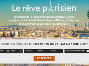 groupe Accor sponsorise Roland Garros