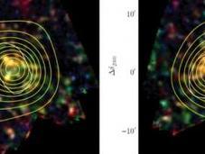 Cosmologie Planck Herschel peut-être observé proto-amas galaxies