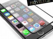 Offre privilège -58% protection verre trempé Full Size pour iPhone Plus