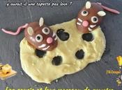 souris leur morceau gruyère (trompe-l'oeil chocolat)