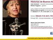 Museo Casa Carlos Gardel ouvre saison Narración Oral l'affiche]