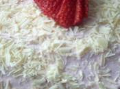 Merveilleux fraise chocolat blanc