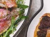 Rougets salade tartines tapenade