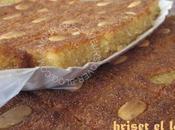 Hriset gâteau semoule amandes fleur d'oranger
