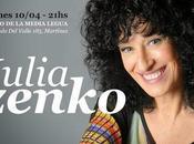 Julia Zenko présente dernier disque Martínez l'affiche]