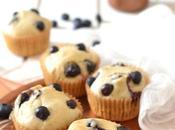 Muffins myrtille Sans oeuf, lait