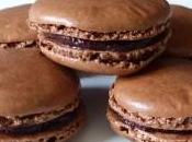 Macarons chocolat Grand Marnier, orange confite