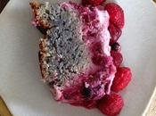 Cake fruits rouges cream cheese