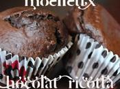Muffins moelleux ricotta chocolat
