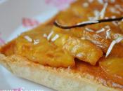 Tarte l'ananas caramélisé