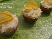 Cupcakes noix coco citron lemon coconut cupcakes limón