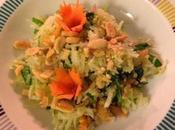 Salade papaye verte