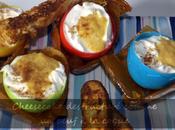 Dessert Pâques Cheesecake destructuré comme oeuf coque