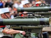 Liban reçoit premières armes françaises payées l'Arabie Saoudite.