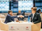 Carlsen leader Mémorial Vugar Gashimov