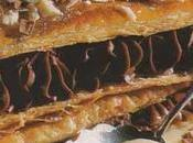 Mille-feuilles deux chocolats rhum ambré Martinique