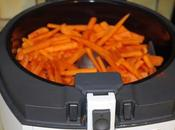 Frites carottes paprika