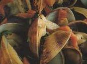 Palourdes fricassée jambon pays, persil frisé, graines pavot bleu