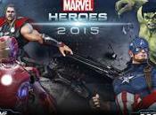 Avengers L'ère d'Ultron inspire Marvel Heroes 2015