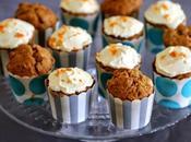Carrot cake muffin (recette Julie Andrieu