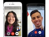 Facebook Messenger ajoute appels vidéo iPhone iPad