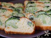 Cake salé brocoli