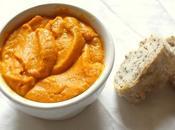 Recette Dips carotte chêvre curry